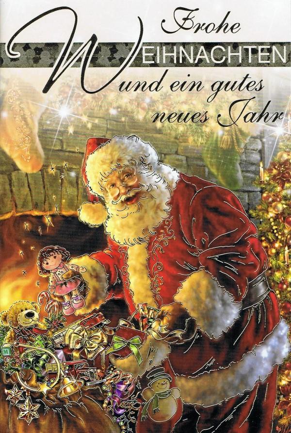Weihnachtskarte Weihnachtswünsche mit Neujahrswünsche 224311