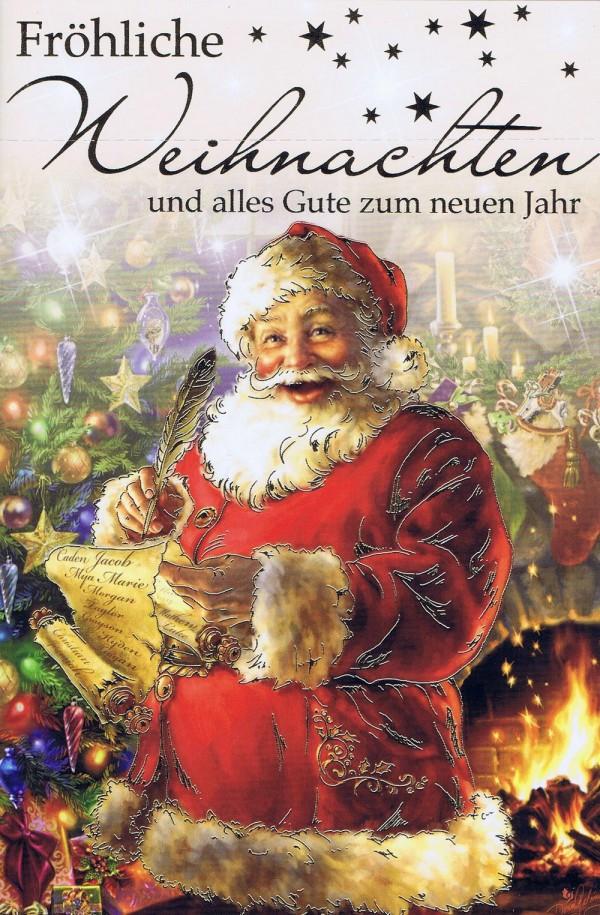 Weihnachtskarte Weihnachtswünsche mit Neujahrswünsche 224313