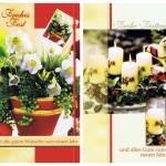 4 Klassische Weihnachtskarten mit Fotomotiv
