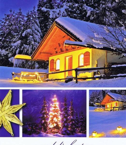 Weihnachtskarte Winterliches Motiv (22-3590)