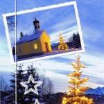 Weihnachtskarte Winterliches Motiv (22-3589)