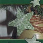 Weihnachtskarte grün Weihnachtsmotiv - Frohe Weihnachten