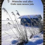 Klappkarte Weihnachten - Wintermotiv 223827