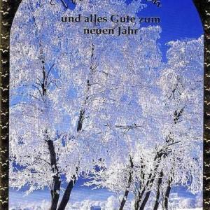 Klappkarte Weihnachten - Wintermotiv 223826