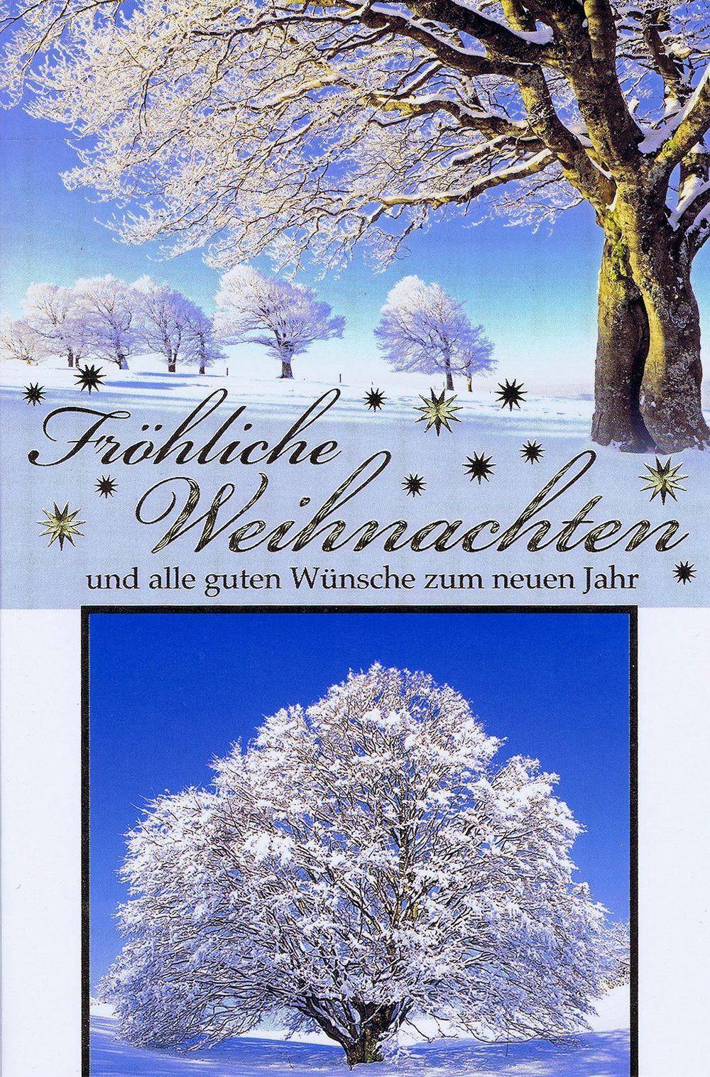 Weihnachtskarte Motiv: Winterlandschaft 224128
