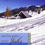 Weihnachtskarte Motiv: Winterlandschaft 224122