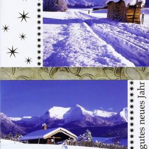 Weihnachtskarte Motiv: Winterlandschaft 224124