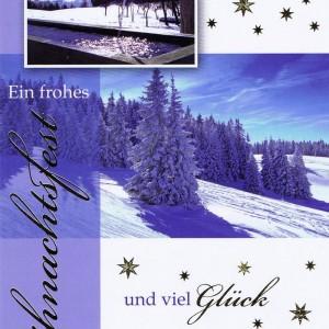 Weihnachtskarte Motiv: Winterlandschaft 224123