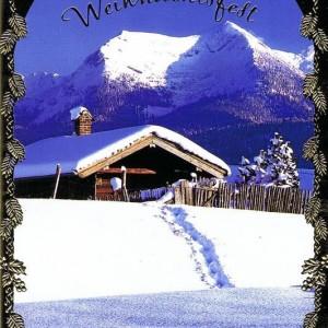 Klappkarte Weihnachten - Wintermotiv (22-3332)