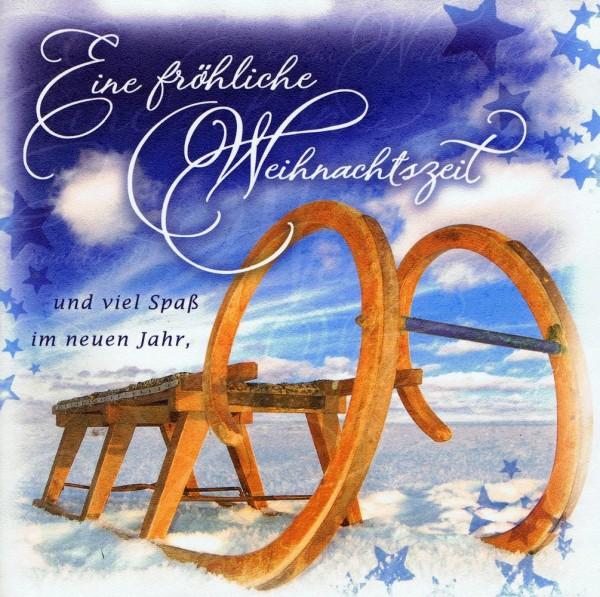 Romantische Weihnachtskarte - Weihnachten, Fröhliche Weihnachtszeit