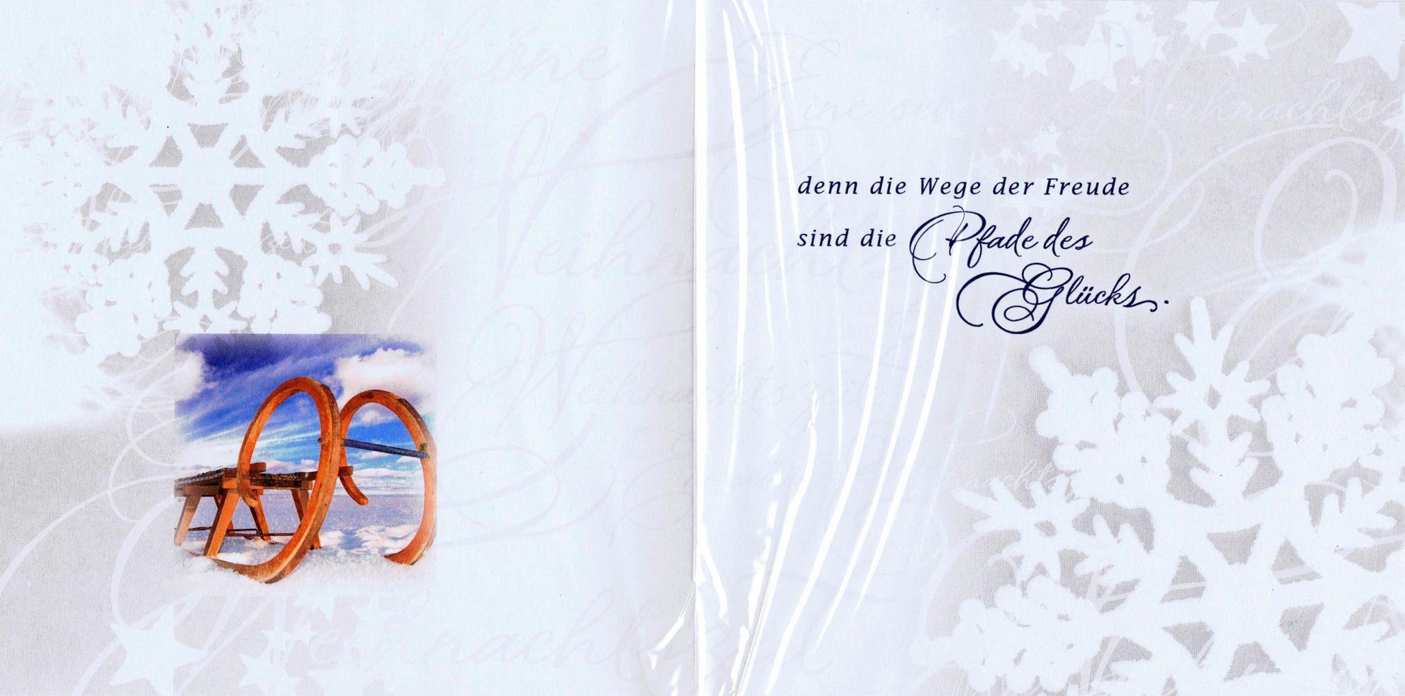 romantische weihnachtskarte weihnachten fr hliche. Black Bedroom Furniture Sets. Home Design Ideas