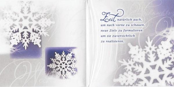 Romantische Weihnachtskarte - Weihnachten, Frohes Fest