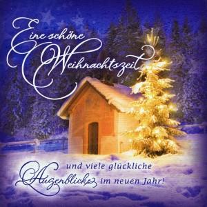 Romantische Weihnachtskarte - Weihnachten, Schöne Weihnachtszeit