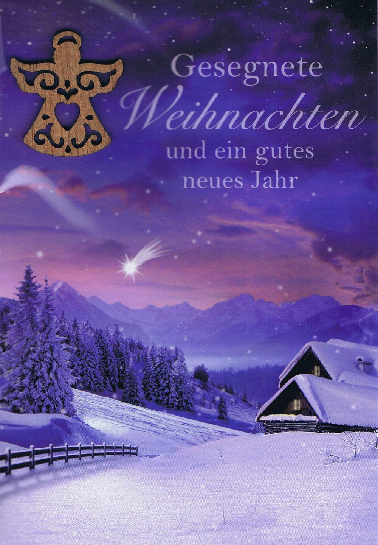 Weihnachtskarte – Gesegnete Weihnachten | Kartenwichtel.de