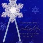 Weihnachtskarte - Let it snow