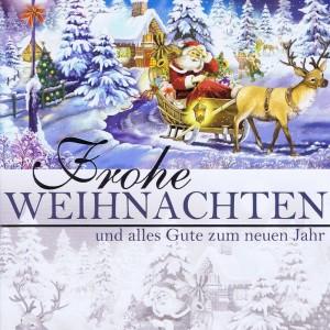 Weihnachtskarte Weihnachtsmann 224307