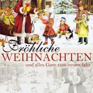 Weihnachtskarte Weihnachtsmann 224309