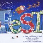 Weihnachtskarte - Weihnachtsfest