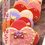 Karte zum Valentinstag mit süssen Herzen VT100