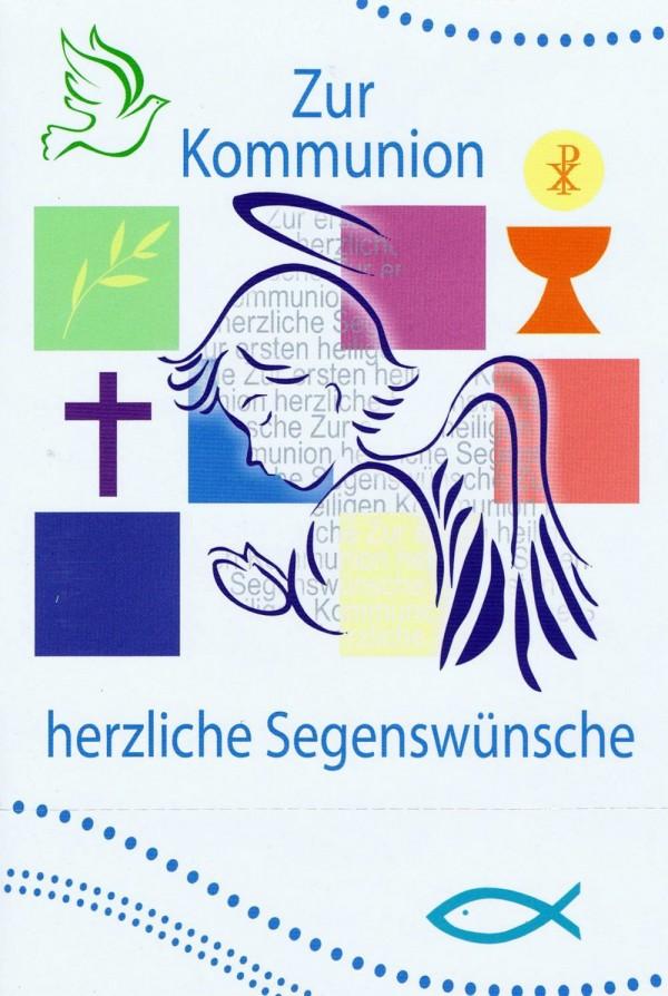 Glückwunschkarte zur Kommunion KO181