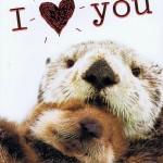 Alles Liebe zum Valentinstag - Karte mit Folienprägung 95-H1021