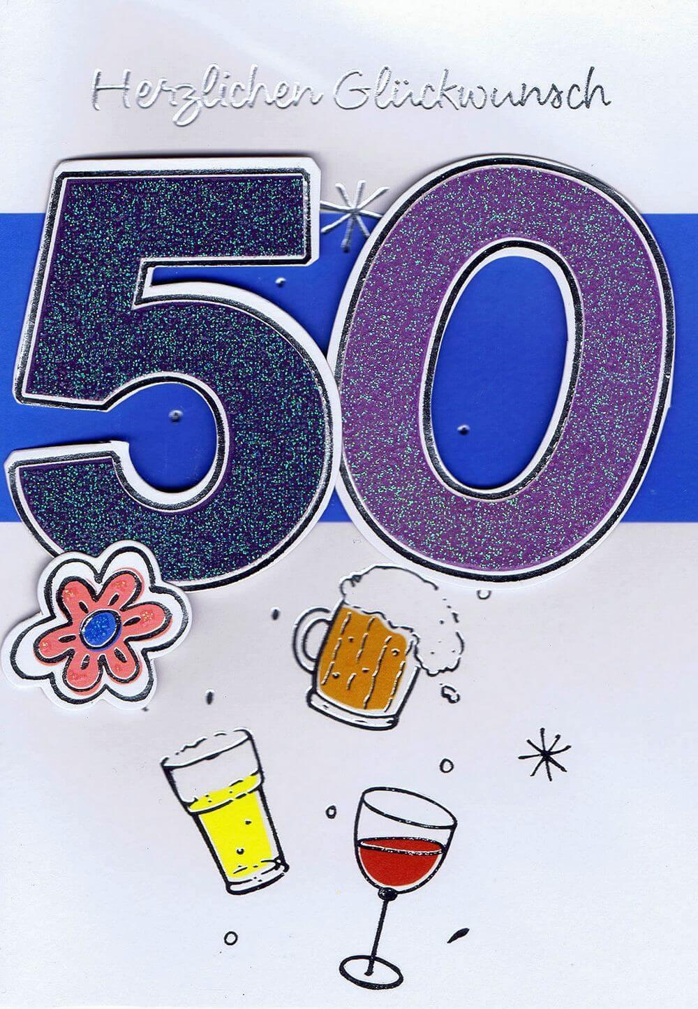 Herzlichen Glückwunsch 50