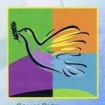 Glückwunschkarte zur Kommunion XKO111 Taube