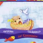 Glückwunschkarte zur Kommunion XKO118 Arche Noah