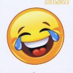 Geburtstagskarte Emotionen Weinen