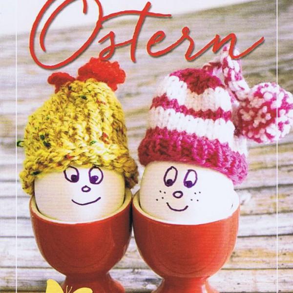 Lustige Osterkarte - Fröhliche Ostern