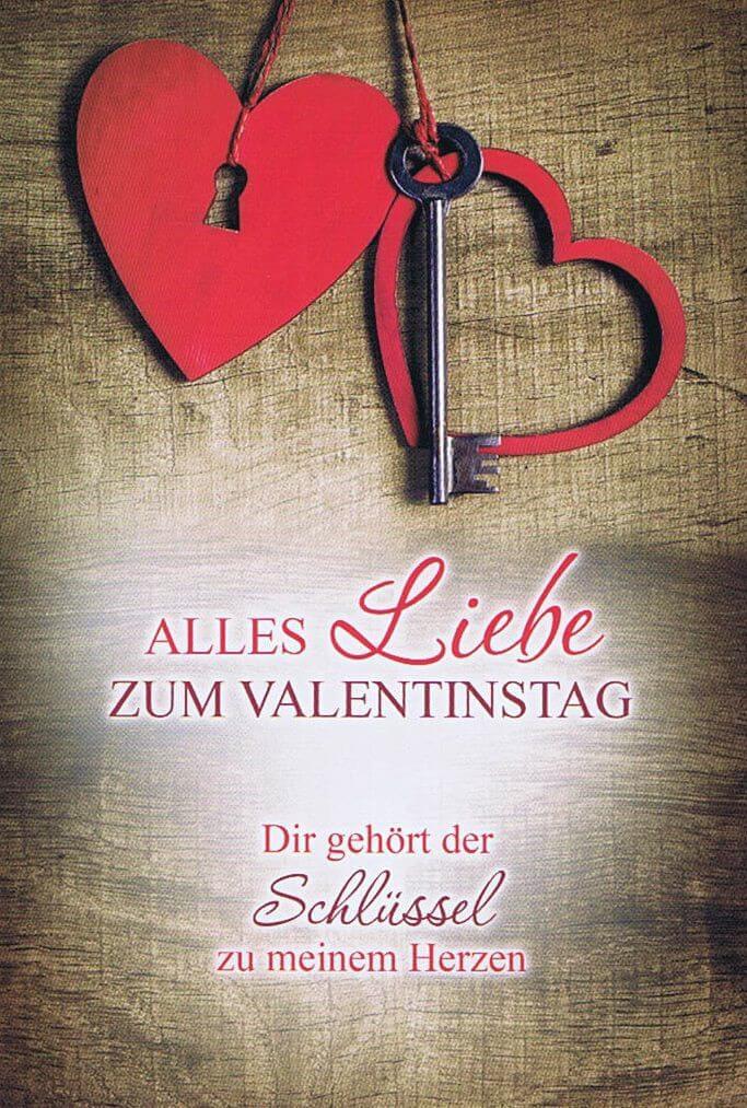 Valentinstag   Dir Gehört Der Schlüssel Zu Meinem Herzen