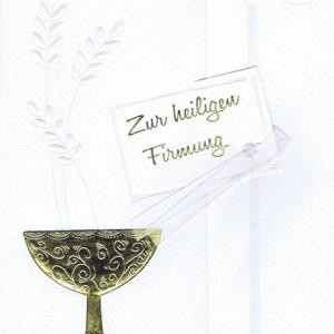 Glückwunschkarte zur Firmung